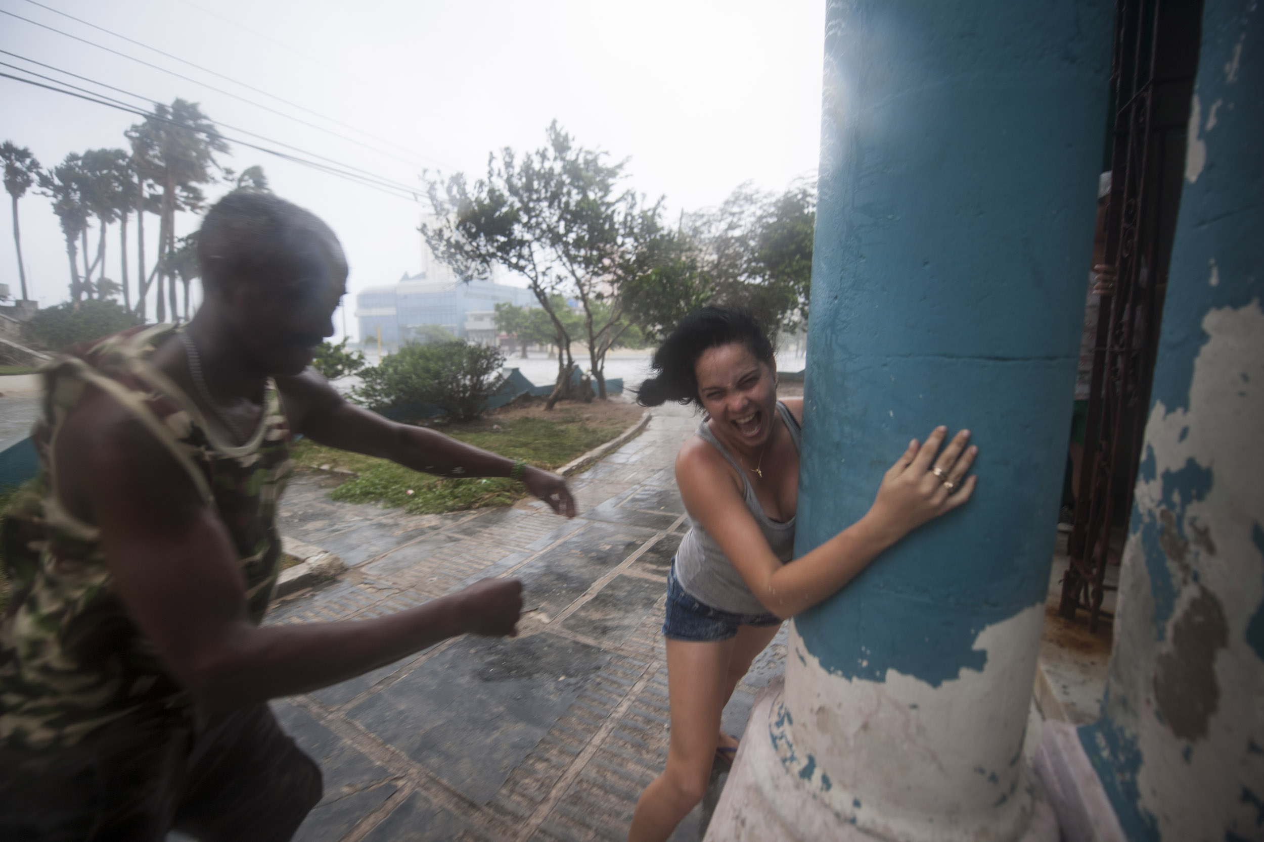 Huracán Irma - Cuba - Hector Garrido, Aerial and human photography