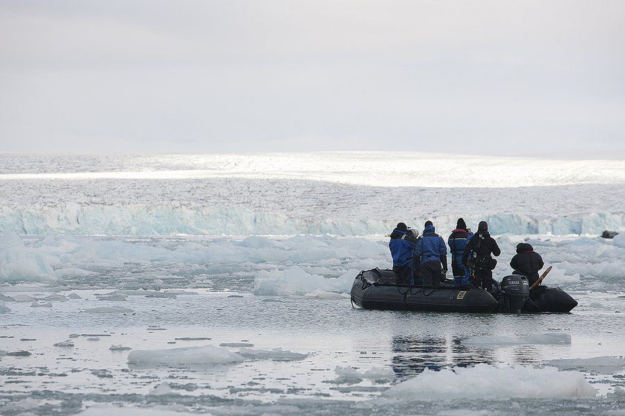 Svalbard Glaciar Monacobreen - Svalbard - Iñigo Bernedo, Fotografía