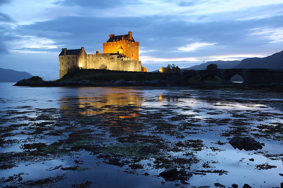 Eilean Donan Castle, Skye Isle Scothland  - Escocia - Iñigo Bernedo, Fotografía
