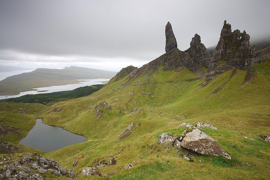 Old Man of Storr, Skye Isle Scothland  - Escocia - Iñigo Bernedo, Fotografía