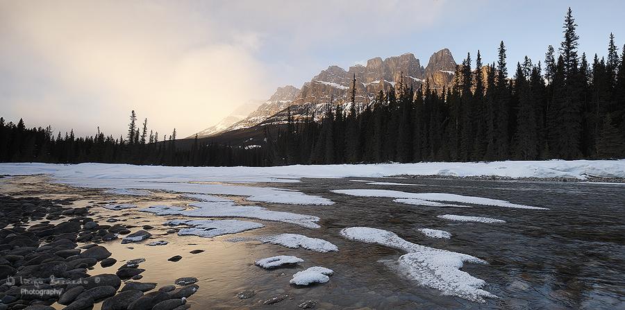 Castle Mountain - Canada, Abraham Lake - Iñigo Bernedo, Fotografía