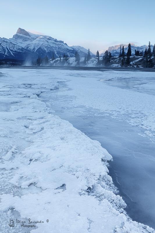 North Saskatchewan River - Canada, Abraham Lake - Iñigo Bernedo, Fotografía