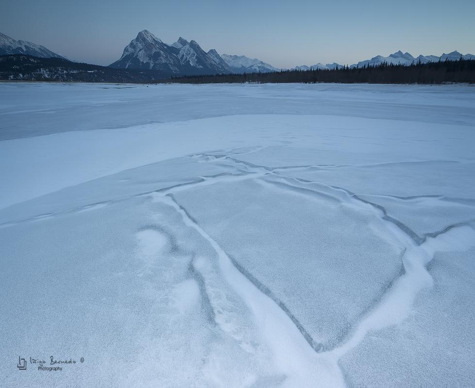 Preachers Point, Abraham Lake, Kootenay Plains, Pano 3 Imagenes Canon TS  24mm - Canada, Abraham Lake - Iñigo Bernedo, Fotografía