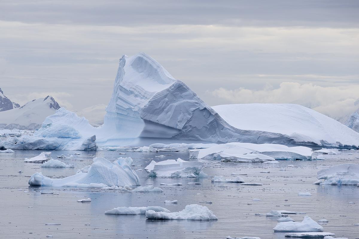 Iceberg, Paradise Harbour - Antártida - Iñigo Bernedo, Fotografía