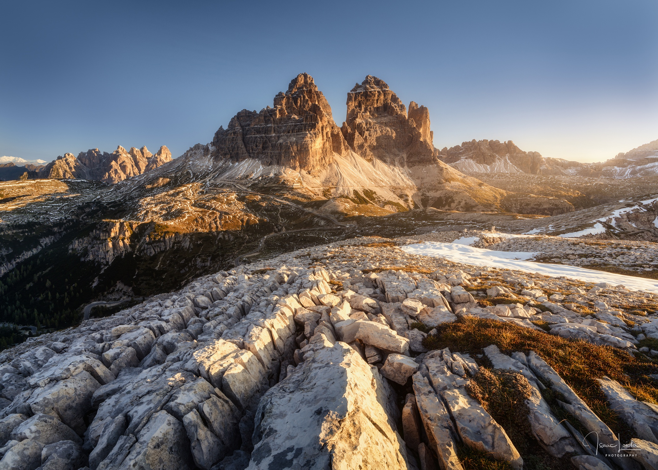 Tre Cime - Mountain lights - Isaac Loiola, Photography