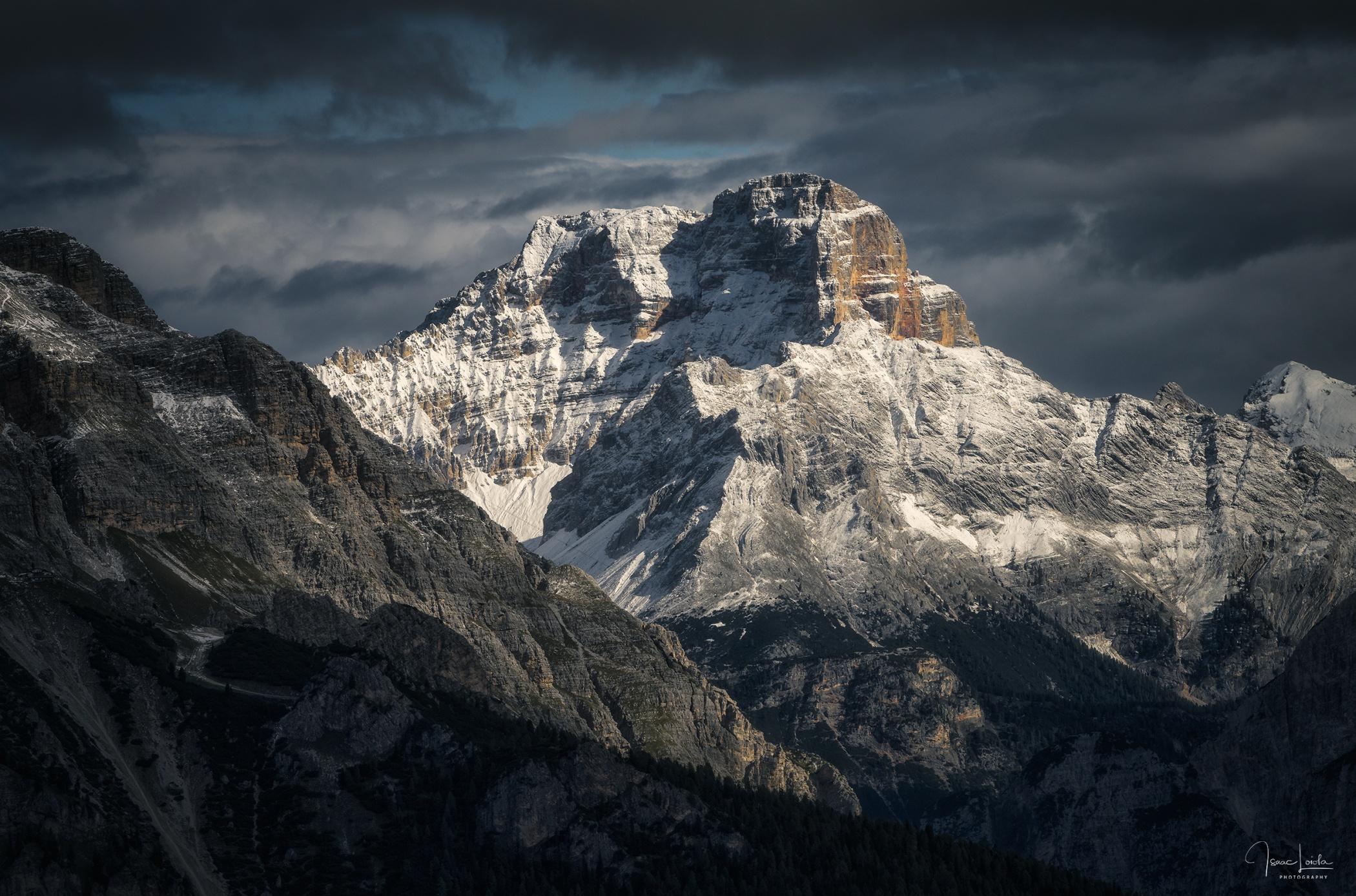Croda Rossa - Mountain lights - Isaac Loiola, Photography