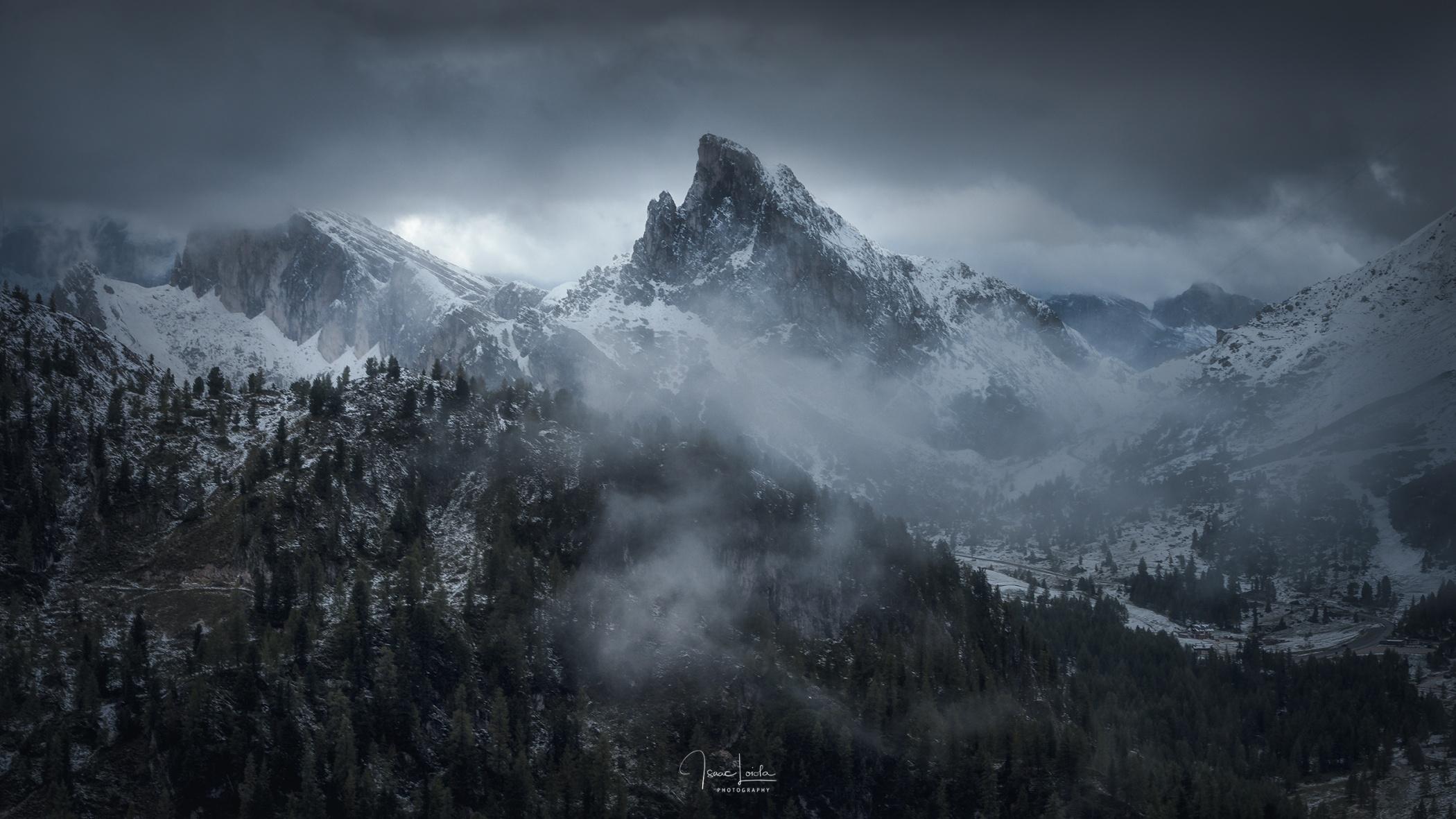 Sass de Stria - Mountain lights - Isaac Loiola, Photography