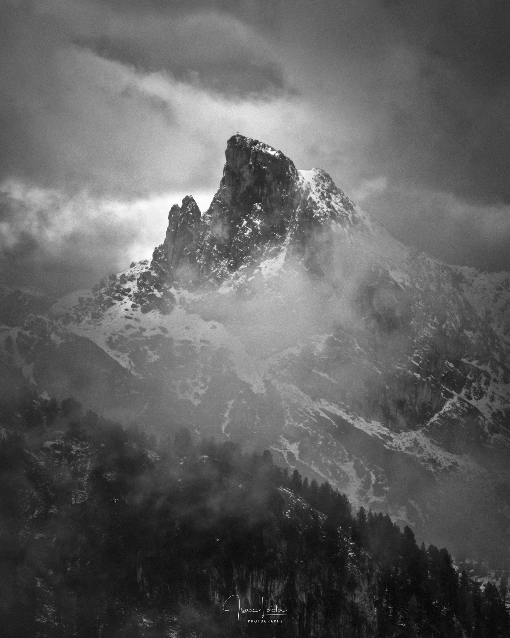 Sass de Stria - Monochromo - Isaac Loiola, Photography