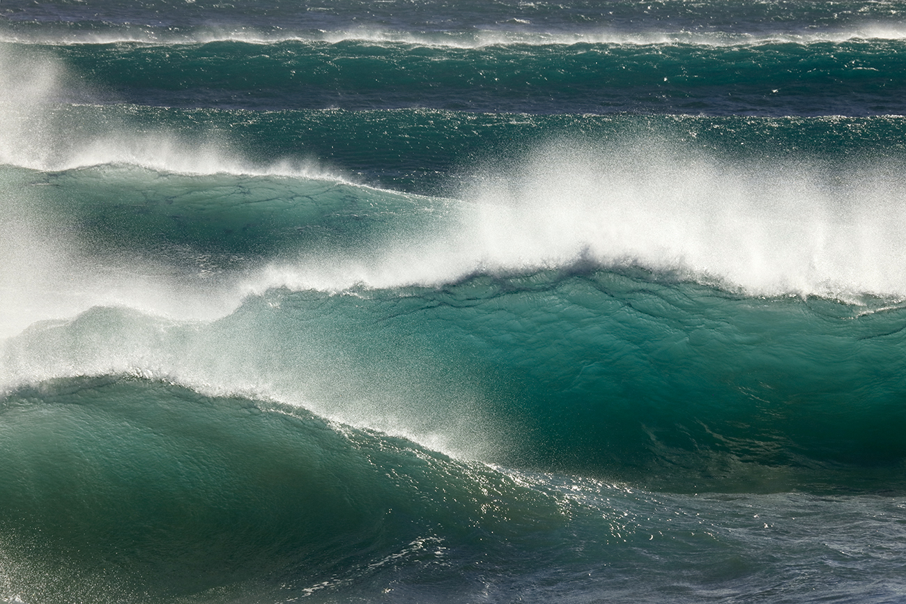 La danza del oceano - Isabel Díez, landscape photography