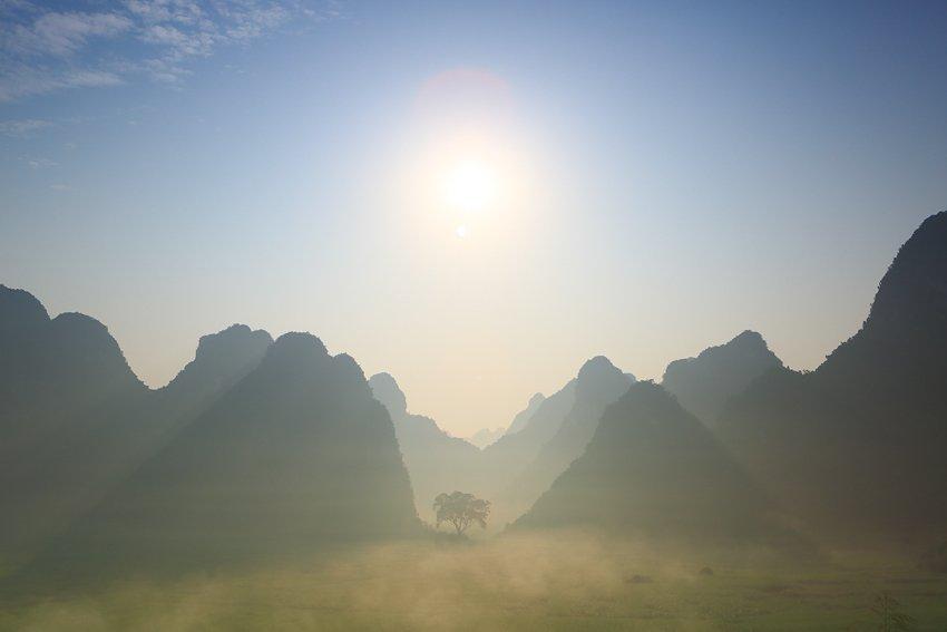 El viejo Roble, Guanxi, China - Visiones de China - Isabel Díez, landscape photography