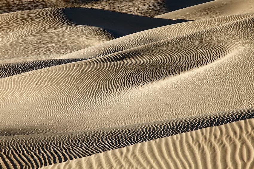 Mesquite Flat Sand Dunes, Death Valley, California, Febrero 2011. - De arena y viento - Isabel Díez . Of Sand and Wind