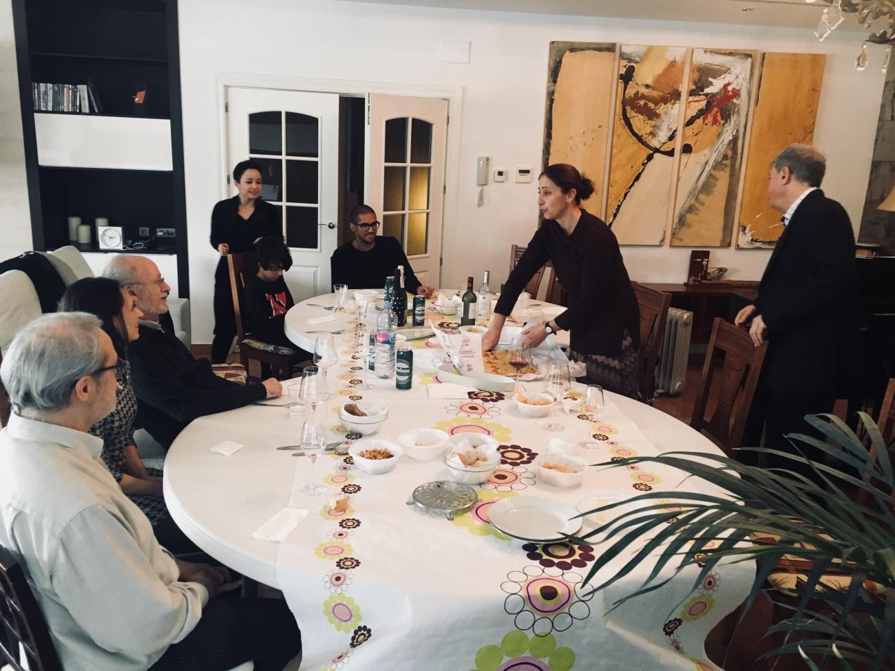 Comida con el equipo de 3 Pasiones de Mujer en Albacete.  - Imágenes - Fernando Lázaro, Compositor y Pianista