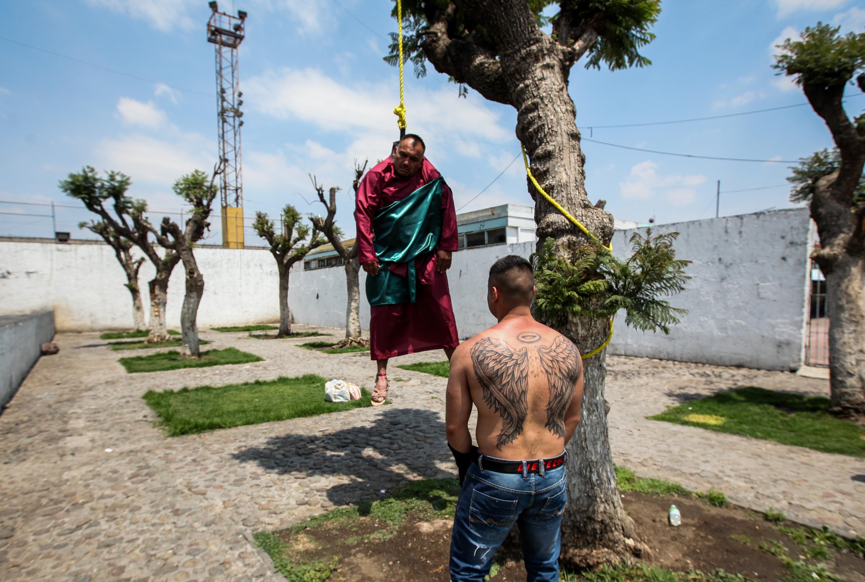 Viacrucis en cárceles de la Ciudad de México - Viacrucis en cárceles de la Ciudad de México