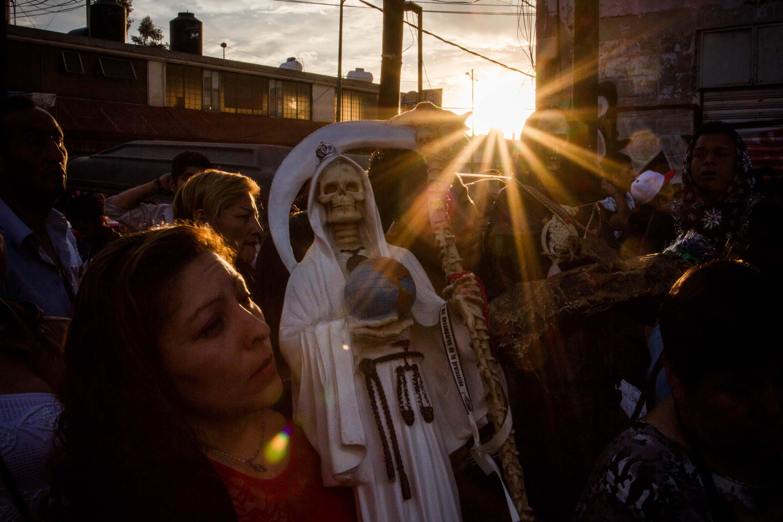 CULTO A LA SANTA MUERTE EN MÉXICO - JAIR CABRERA, Photography