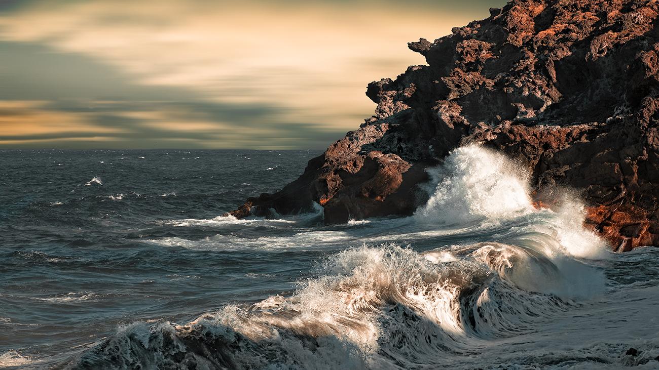 Olas - Ecos del paisaje - Javierangel lopez, fotografia de  paisaje