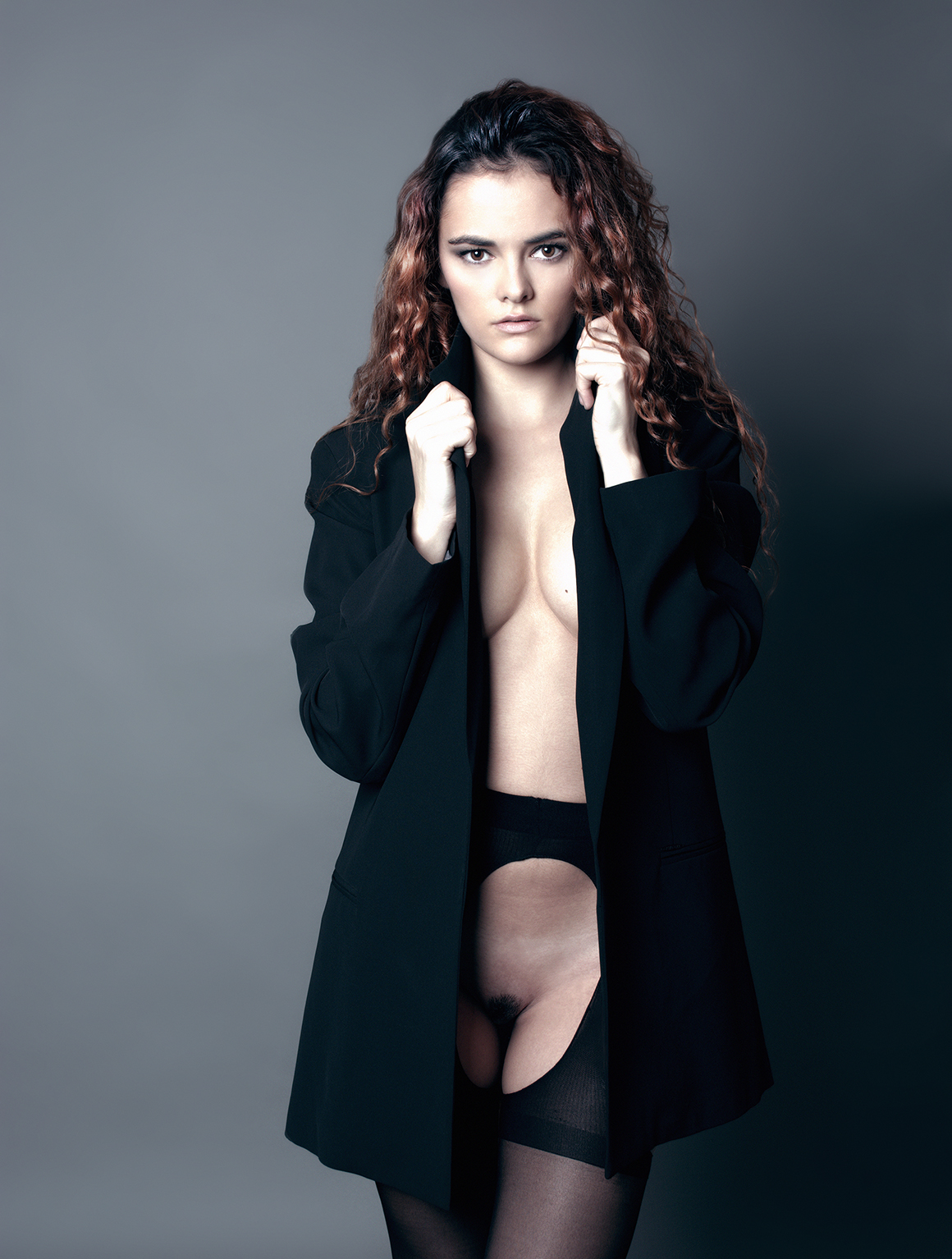 Miss S - Acceso gratuito - Desnudo, semidesnudo y boudoir. Fotografía por Javier Cuevas