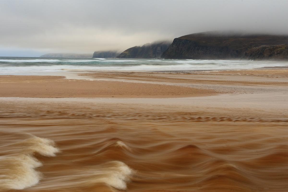 Sandwood Bay, Escocia - una costa - JESUS RODRIGUEZ, FOTOGRAFIA DE NATURALEZA
