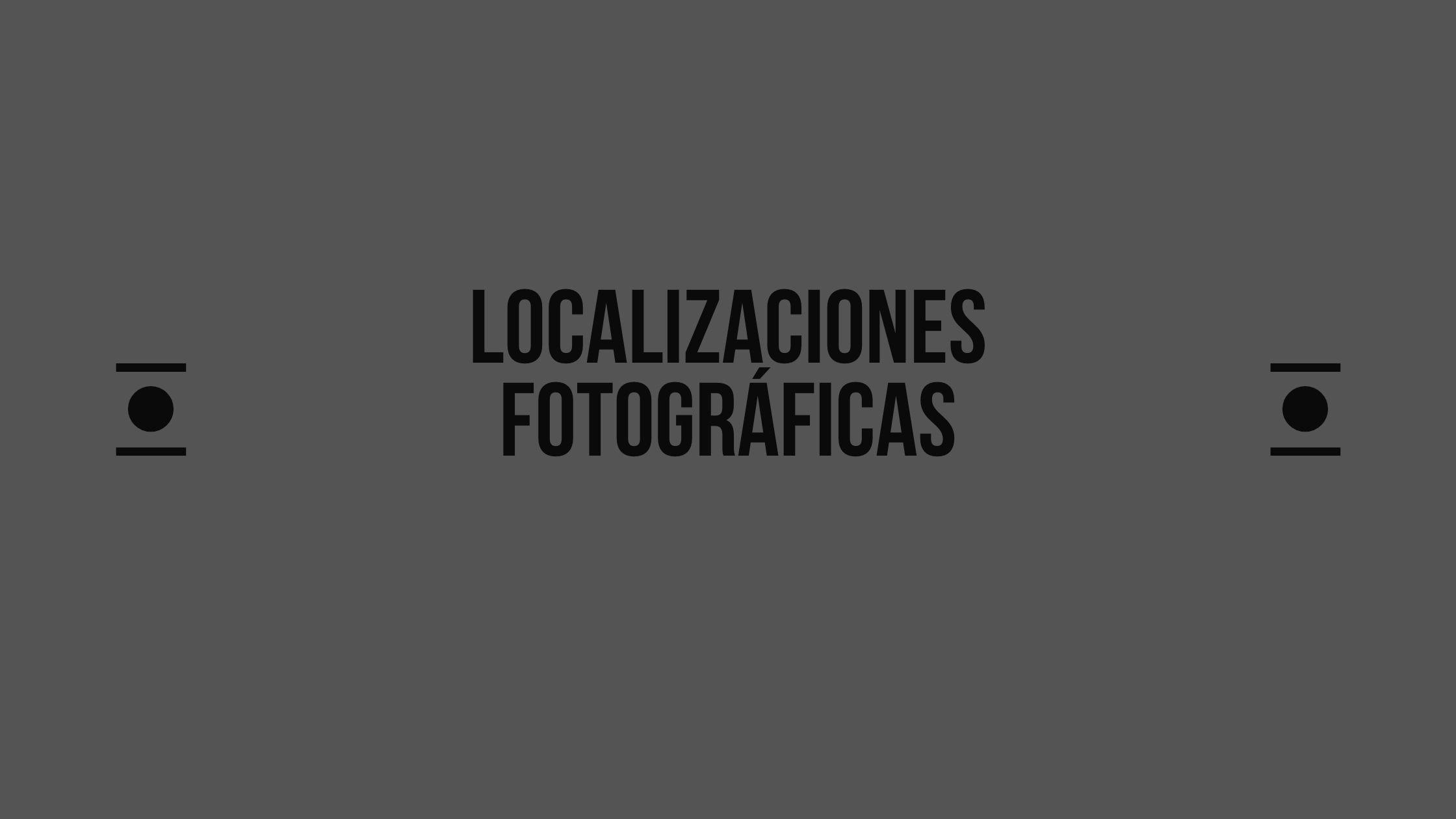 Localizaciones fotográficas - Video Tutoriales Localizaciones Fotográficas. JFTFOTO