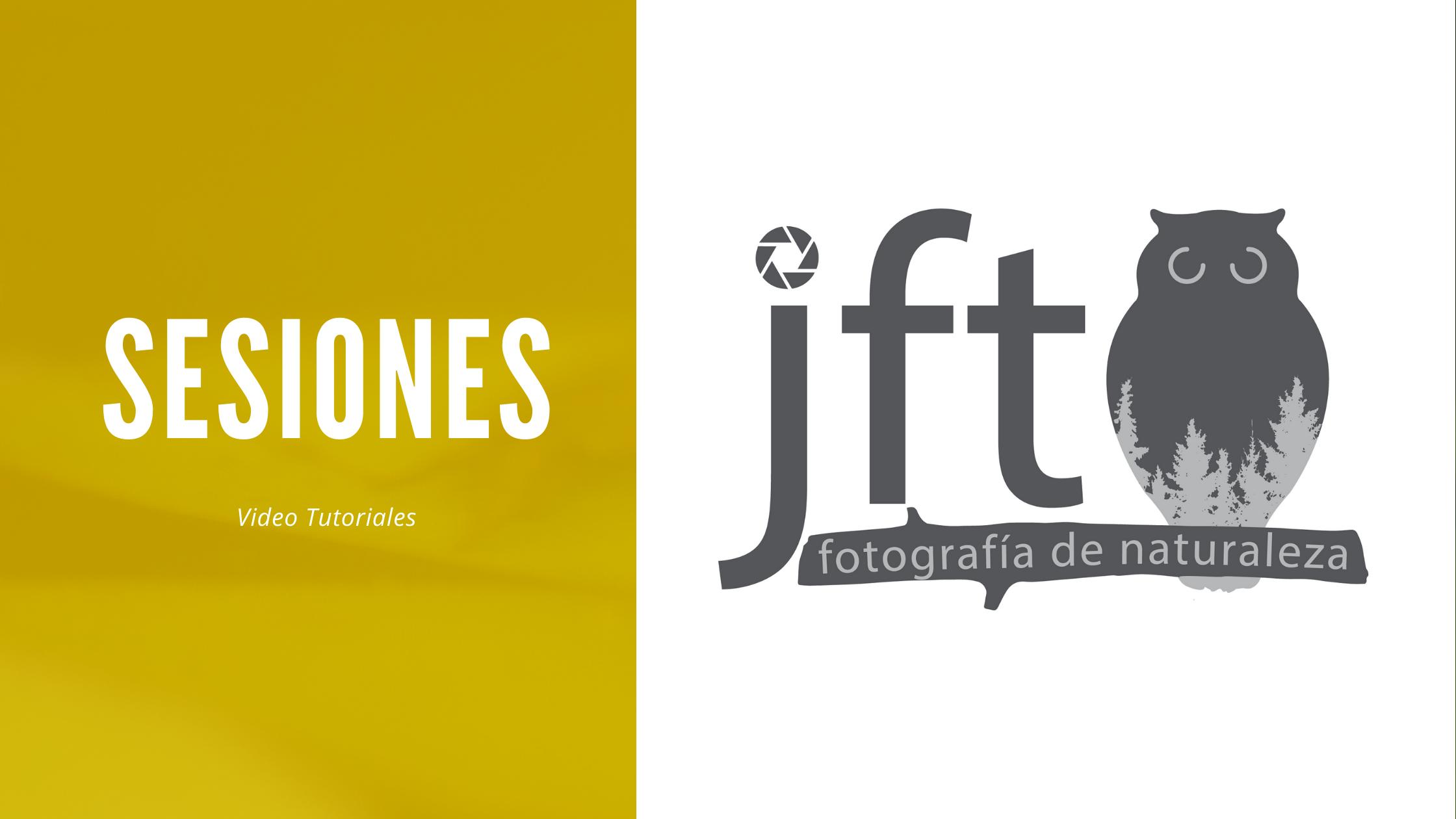 Sesiones fotográficas - Video Tutoriales Sesiones Fotográficas. JFTFOTO