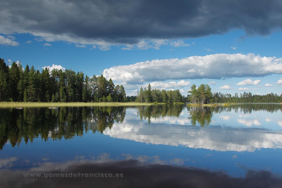 Lago de Piispajärvi, Finlandia - Escandinavia - J L Gómez de Francisco. Fotografía de paisaje de Escandinavia - Landscapes from Scandinavia