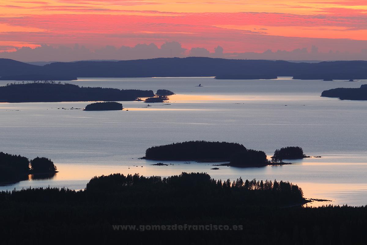 Lago Pielinen, Koli, Finlandia - Escandinavia - J L Gómez de Francisco. Fotografía de paisaje de Escandinavia - Landscapes from Scandinavia