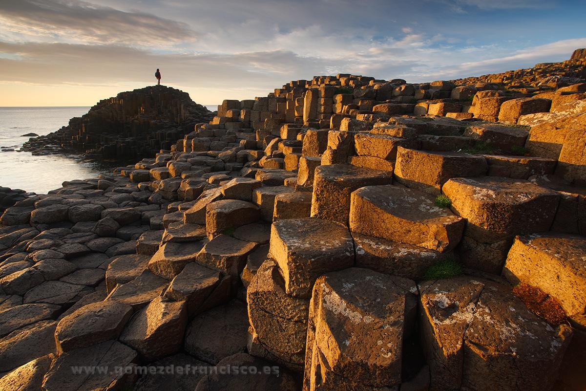 Calzada de los gigantes, Irlanda del Norte - Irlanda - J L Gómez de Francisco. Fotografía de paisaje de Irlanda - Landscapes from Ireland