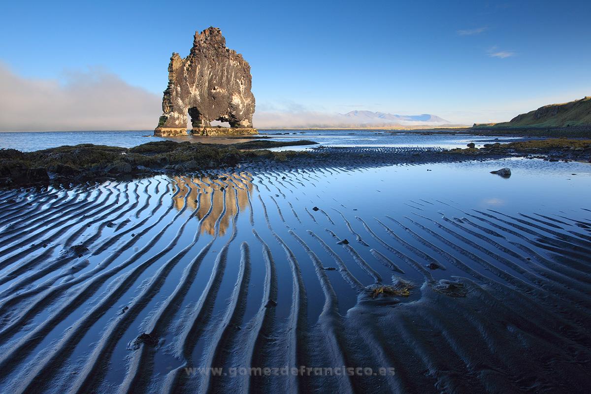 Hvítserkur, Islandia - Islandia - J L Gómez de Francisco. Fotografía de paisaje de Islandia - Landscapes from Iceland
