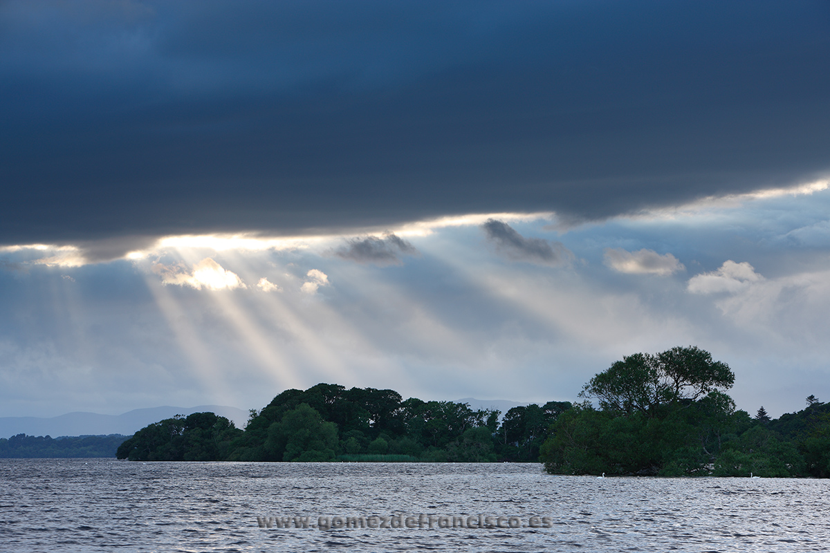 Atardecer en Lough Leane, Irlanda - Irlanda - J L Gómez de Francisco. Fotografía de paisaje de Irlanda - Landscapes from Ireland