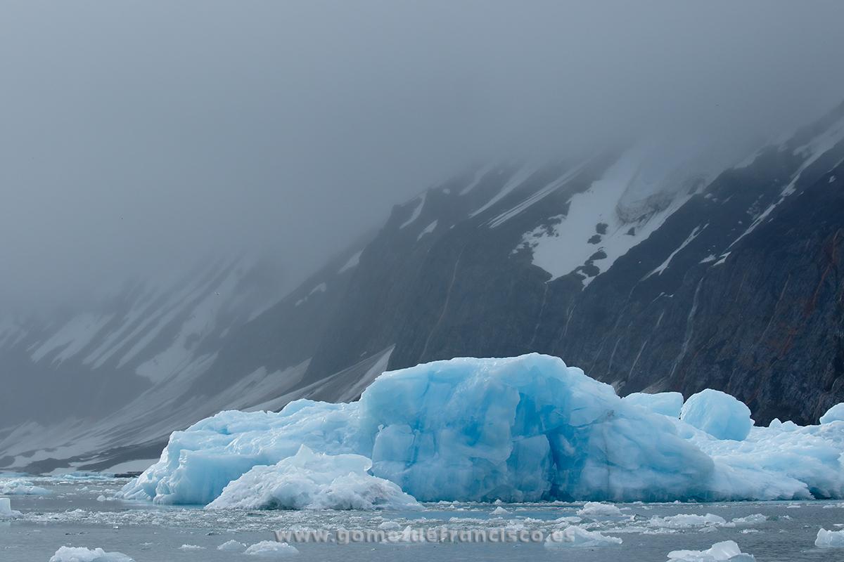 Fiordo de Horsund, Svalbard - Svalbard - J L Gómez de Francisco. Fotografía de paisaje de Svalbard - Landscapes from Svalbard