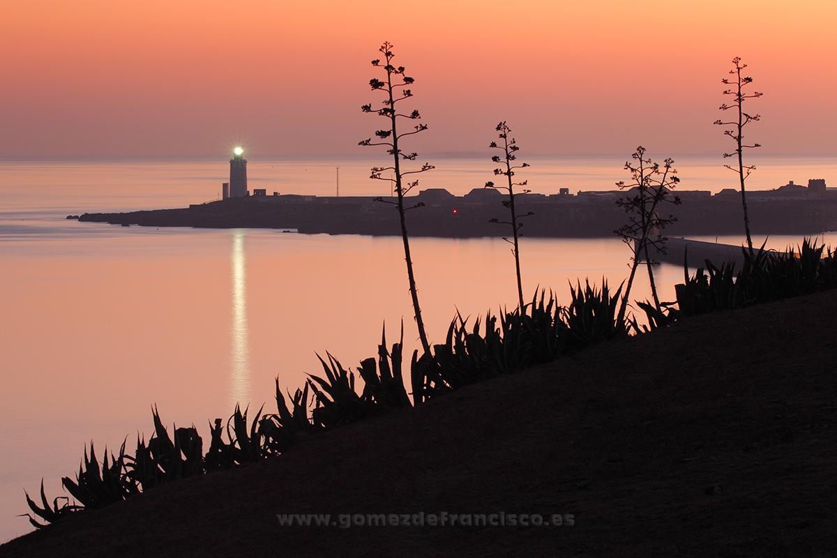 Atardecer en Tarifa, Parque Natural del Estrecho (Cádiz) - España - J L Gómez de Francisco. Fotografía de paisaje de España - Spanish landscape