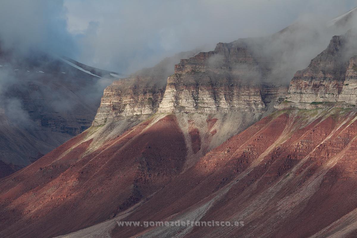Ekmanfjord, Svalbard - Ekmanfjord, Svalbard - J L Gómez de Francisco. Landscape photographs of Svalbard