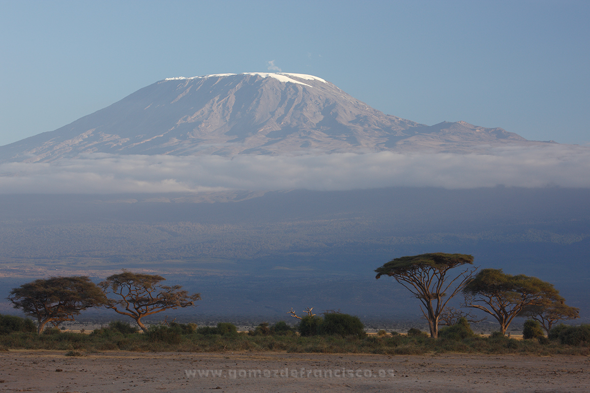 Kilimanjaro, Parque Nacional de Amboseli, Kenia - África - J L Gómez de Francisco. Fotografía de paisaje de África - Landscapes from Africa