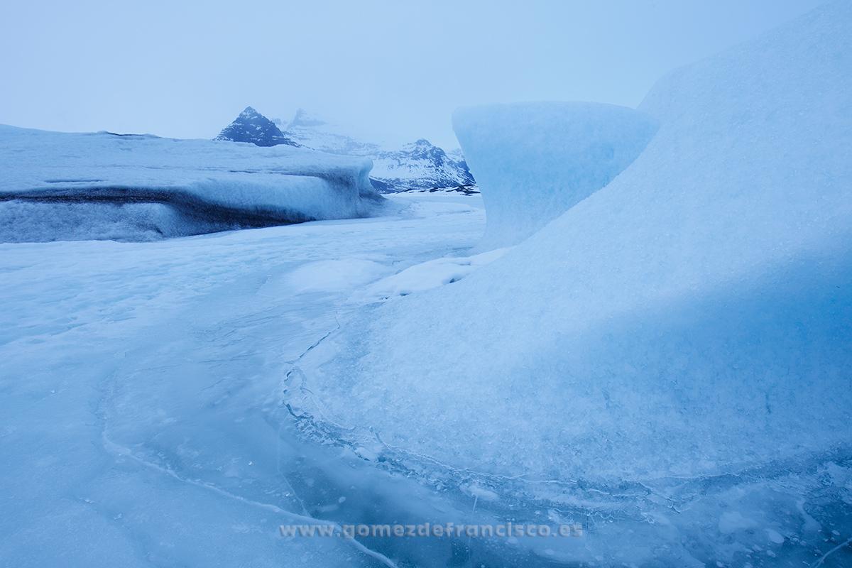 Fjallsárlón, Islandia - Islandia - J L Gómez de Francisco. Fotografía de paisaje de Islandia - Landscapes from Iceland