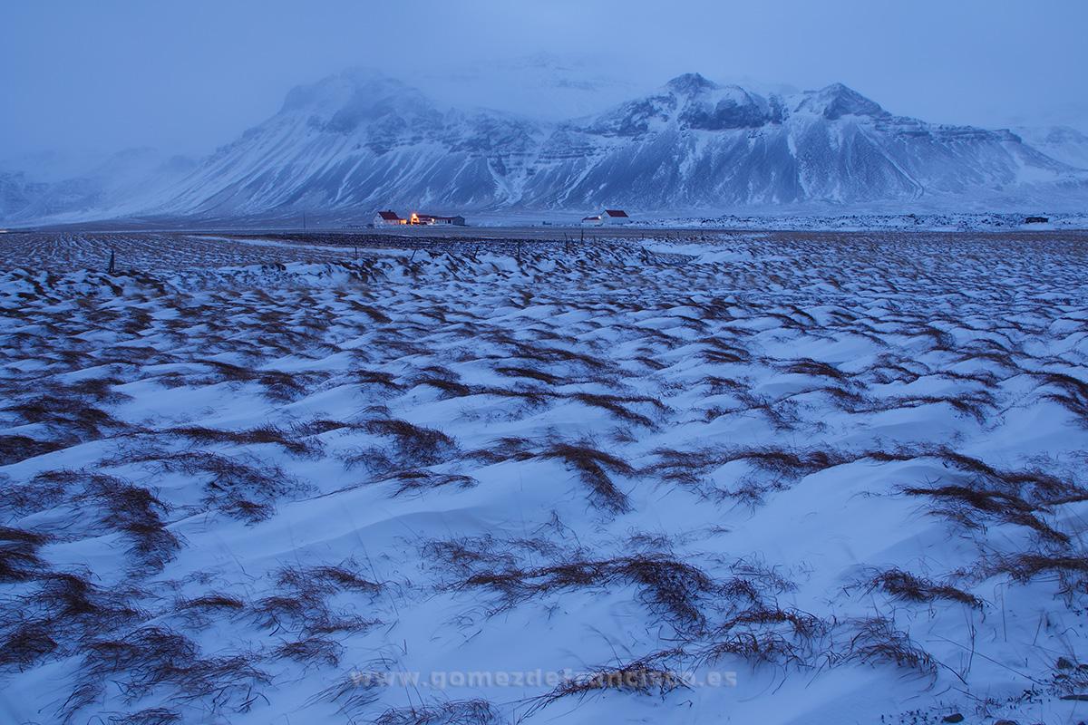 Blafeldur, Snaefellsnes, Islandia - Islandia - J L Gómez de Francisco. Fotografía de paisaje de Islandia - Landscapes from Iceland