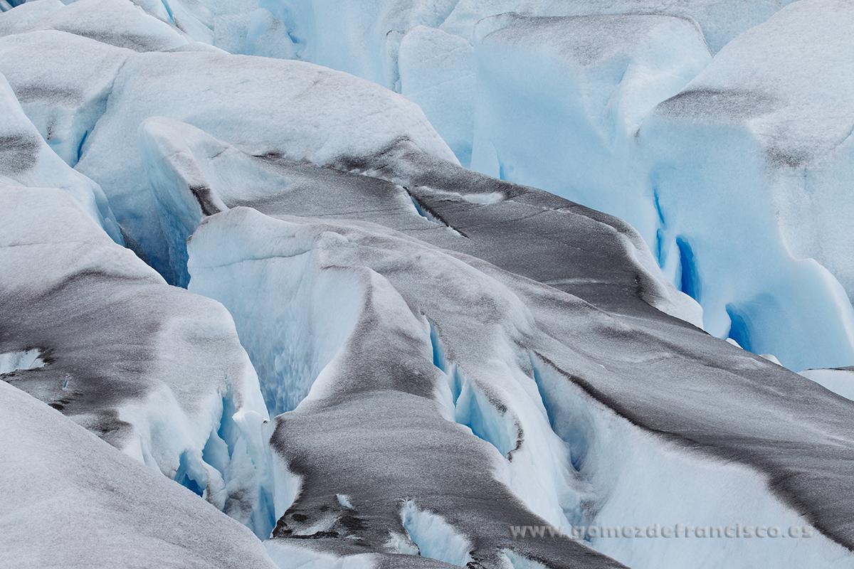 Glaciar. Groenlandia - Atención al detalle - J L Gómez de Francisco. Fotografía de detalles de la naturaleza - Photography of patterns in nature