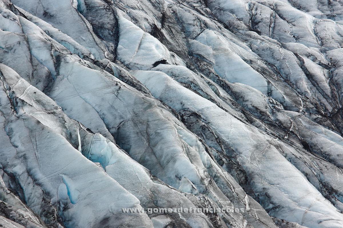 Glaciar de Skálafellsjökull. Islandia - Atención al detalle - J L Gómez de Francisco. Fotografía de detalles de la naturaleza - Photography of patterns in nature