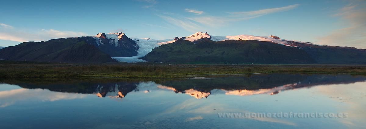 Svínafellsjökull (Islandia) - Panorámicas - J L Gómez de Francisco. Fotografía panorámica de paisaje - Panoramic pictures