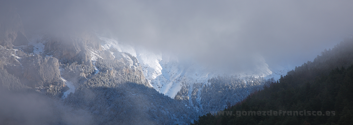 Sierra de Moixeró, Parque Natural Cadí- Moixeró (Cataluña) - Panorámicas - J L Gómez de Francisco. Fotografía panorámica de paisaje - Panoramic pictures