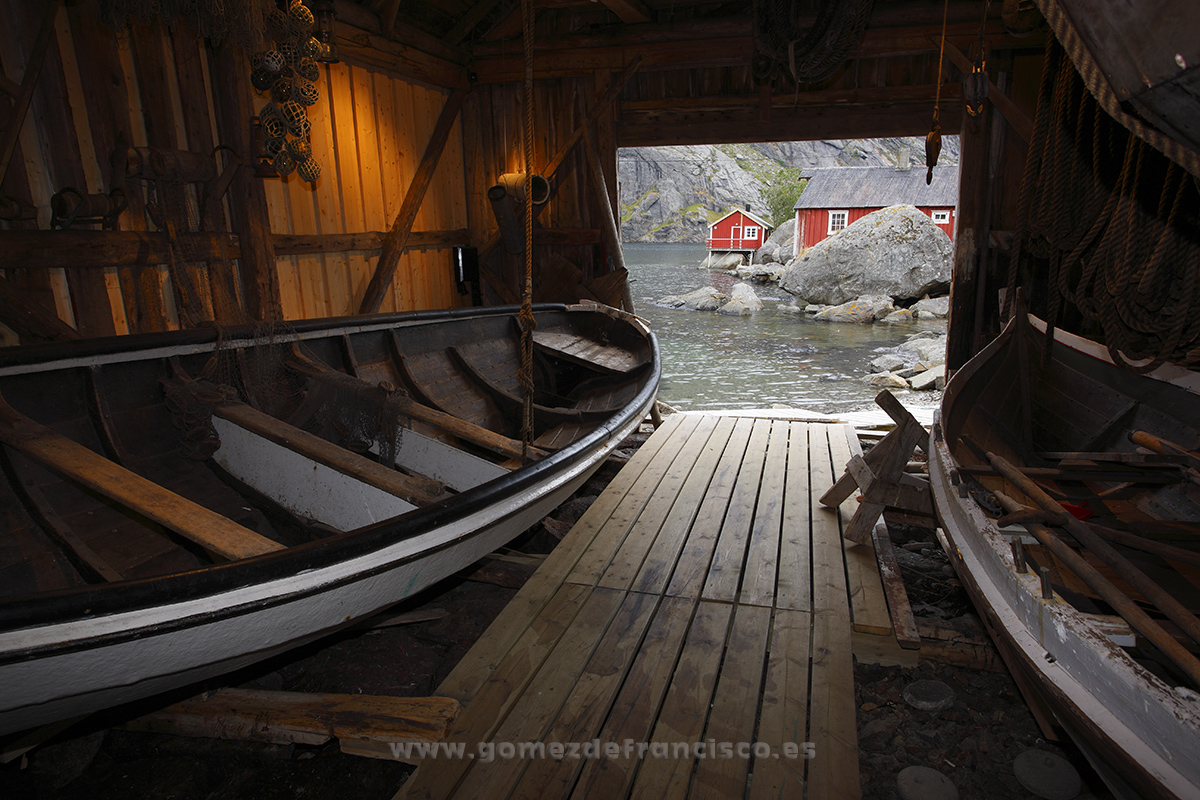 Puerto de Nusfjord, Flakstadoya, Islas Lofoten, Noruega - Escandinavia - J L Gómez de Francisco. Fotografía de paisaje de Escandinavia - Landscapes from Scandinavia