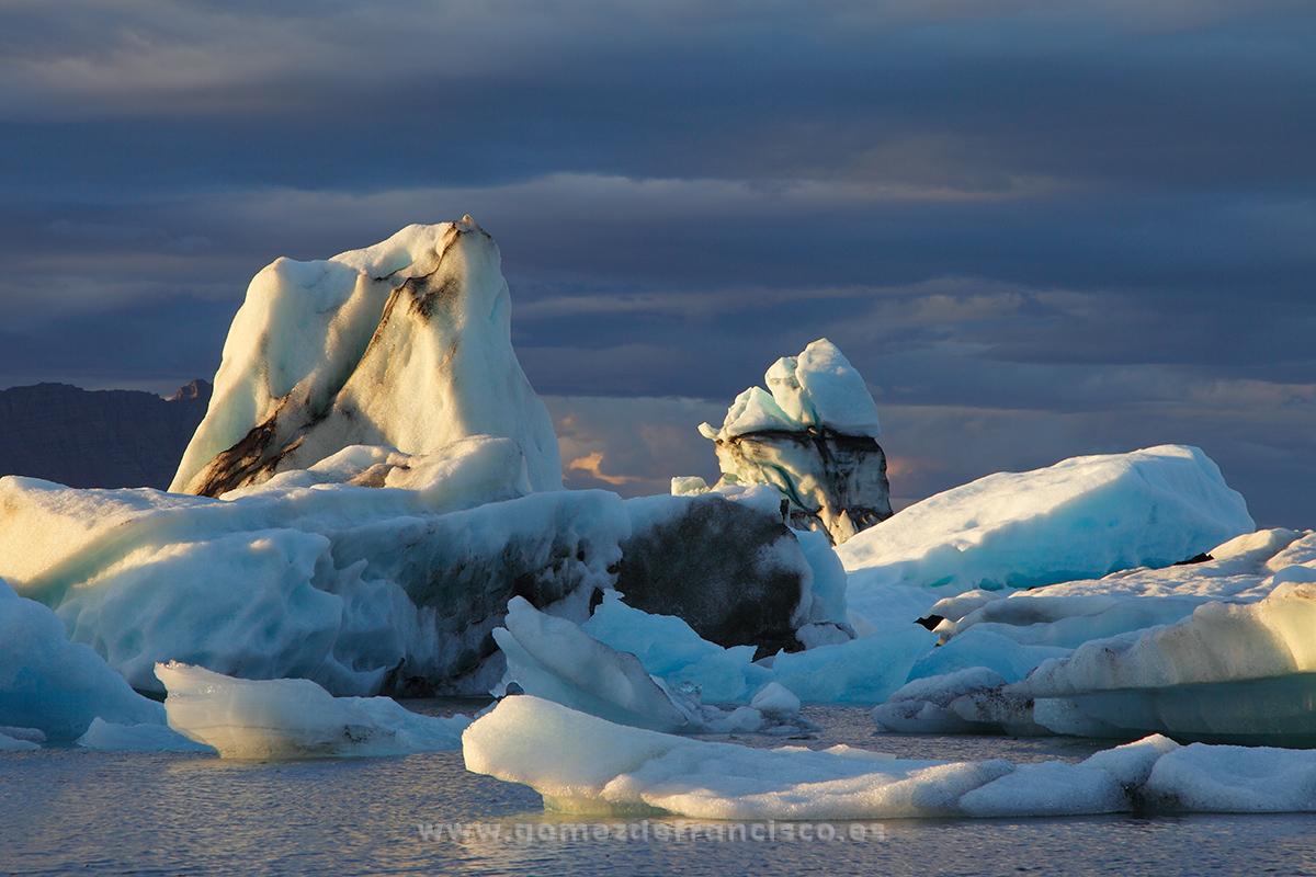 Jökulsárlón, Islandia - Islandia - J L Gómez de Francisco. Fotografía de paisaje de Islandia - Landscapes from Iceland