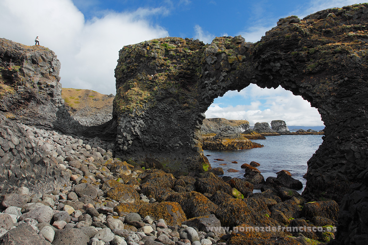 Arnarstapi, Islandia - Islandia - J L Gómez de Francisco. Fotografía de paisaje de Islandia - Landscapes from Iceland