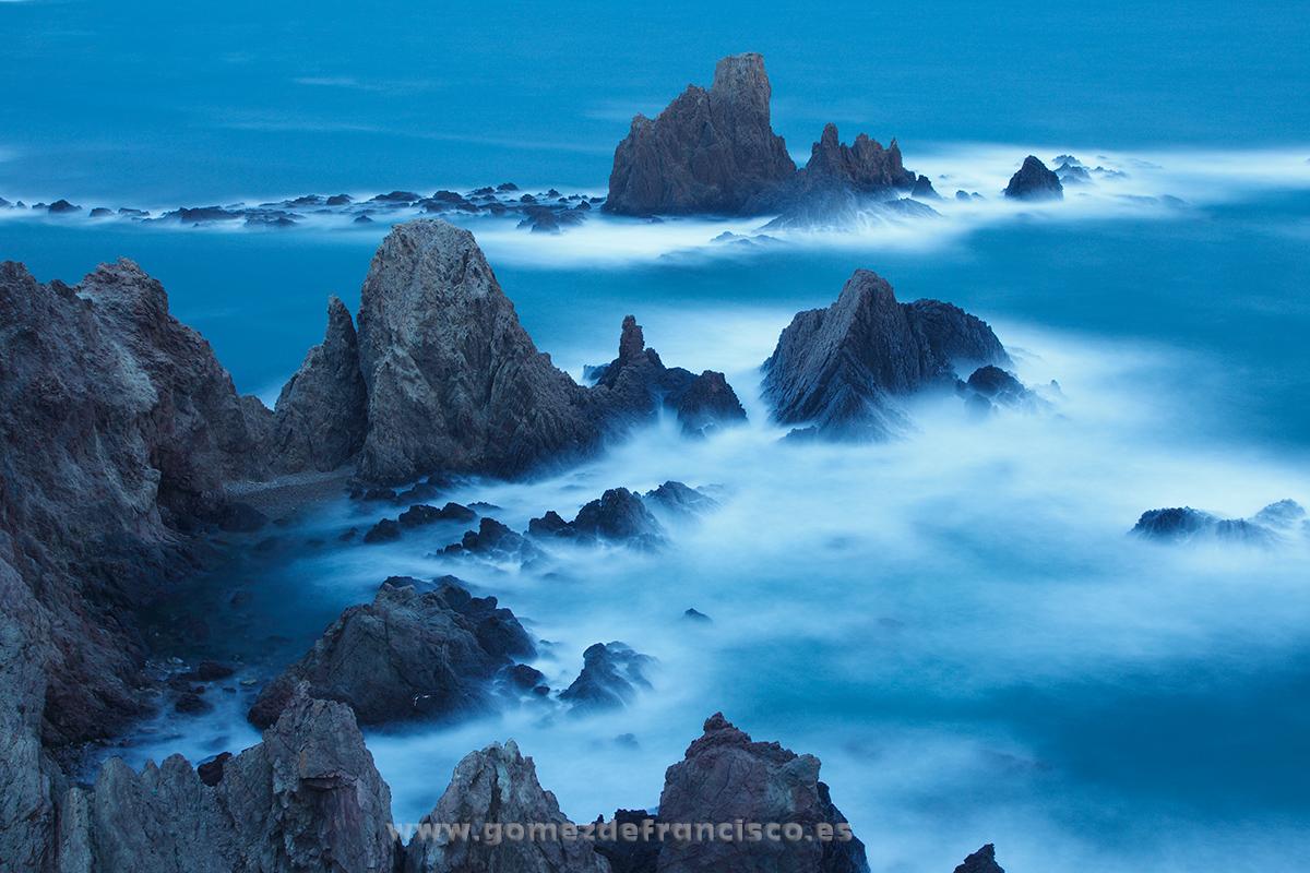 Las Sirenas, Parque Natural Cabo de Gata (Almería) - España - J L Gómez de Francisco. Fotografía de paisaje de España - Spanish landscape