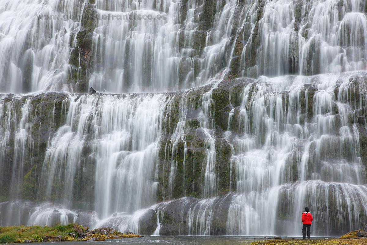 Cascadas de Dynjandi, Islandia - Islandia - J L Gómez de Francisco. Fotografía de paisaje de Islandia - Landscapes from Iceland