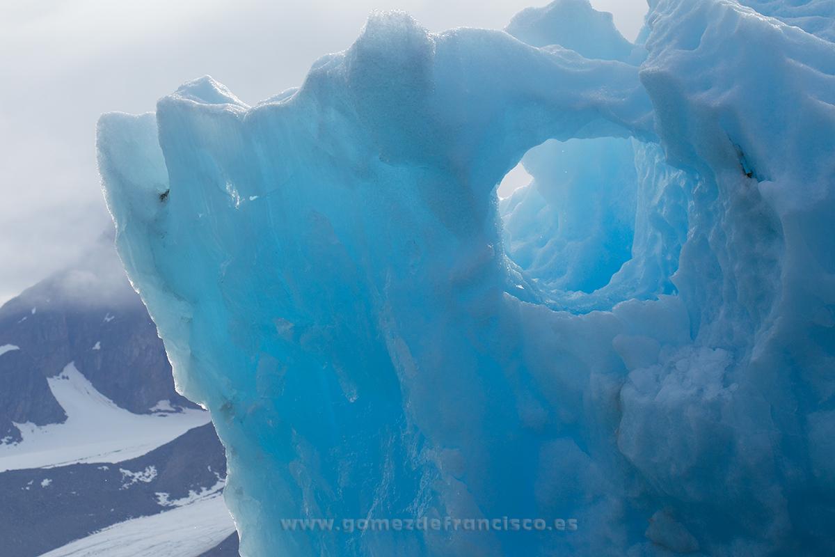 Glaciar Mónaco, Svalbard - Monaco Glacier, Svalbard - J L Gómez de Francisco. Landscape photographs of Svalbard