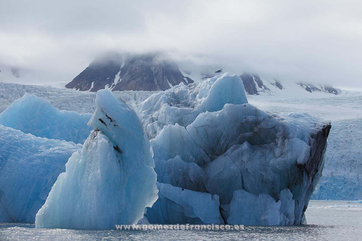 Glaciar Mónaco, Svalbard - Svalbard - J L Gómez de Francisco. Fotografía de paisaje de Svalbard - Landscapes from Svalbard