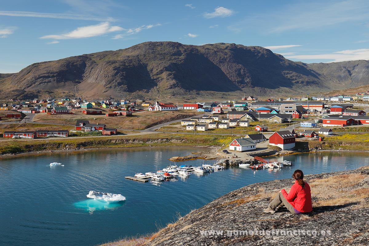 Narsaq, Groenlandia - Groenlandia - J L Gómez de Francisco. Fotografía de paisaje de Groenlandia - Landscapes from Greenland