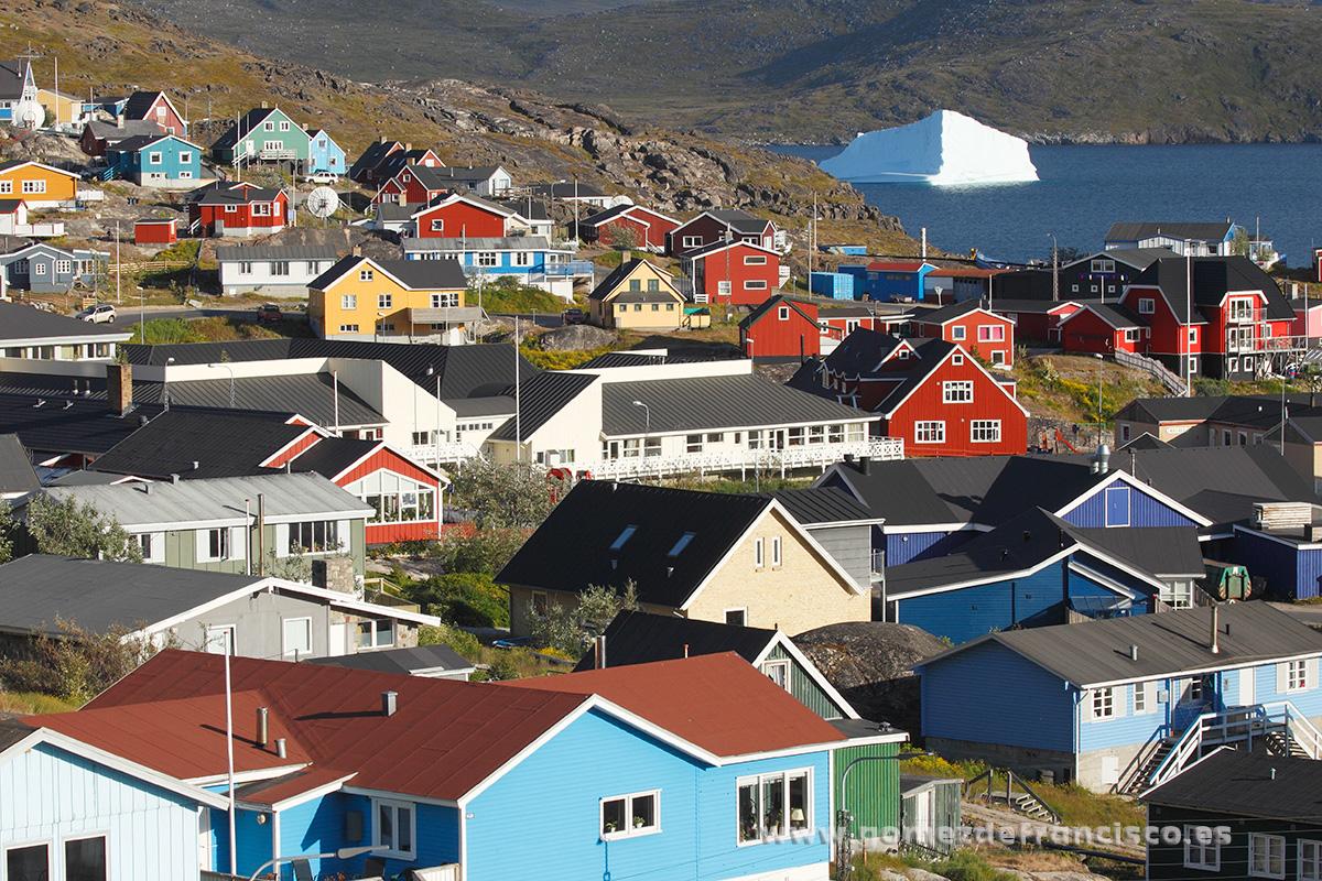 Qaqortoq, Groenlandia - Groenlandia - J L Gómez de Francisco. Fotografía de paisaje de Groenlandia - Landscapes from Greenland
