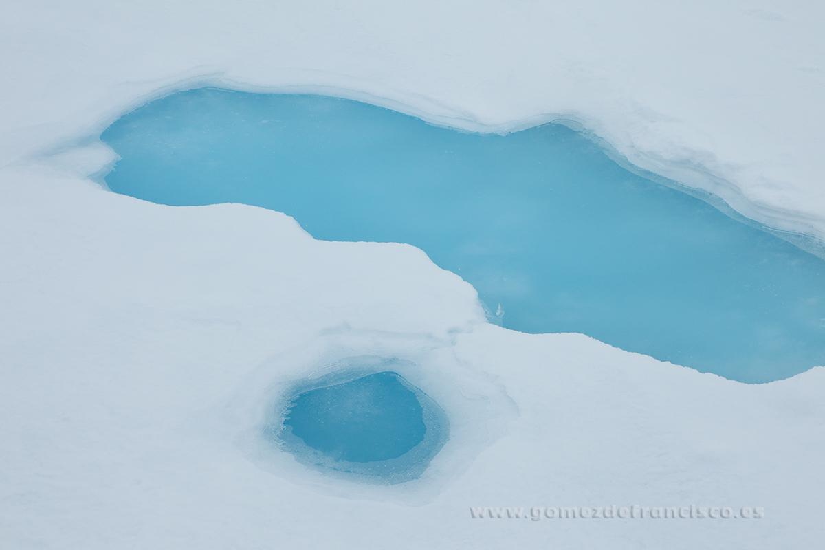 Detalle de la banquisa de hielo. Svalbard - Atención al detalle - J L Gómez de Francisco. Fotografía de detalles de la naturaleza - Photography of patterns in nature