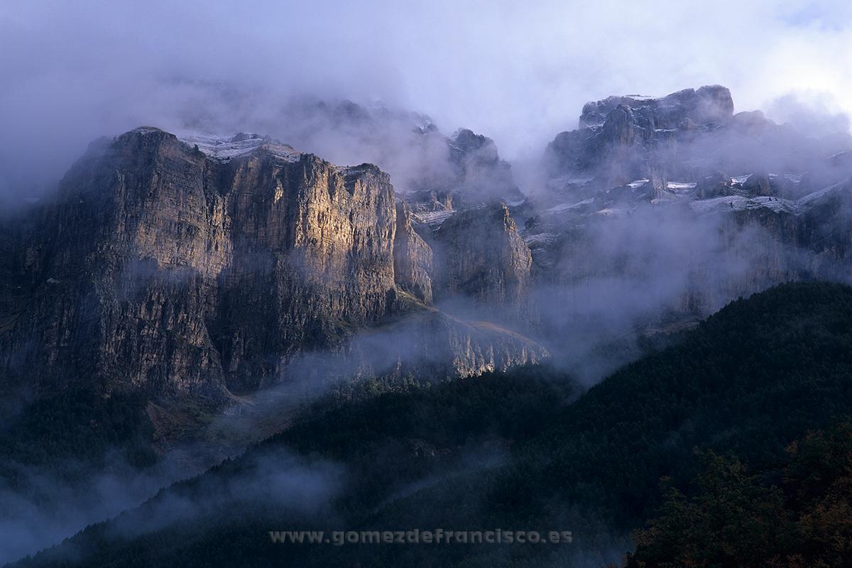 Mondarruego, Parque Nacional de Ordesa y Monte Perdido (Huesca) - España - J L Gómez de Francisco. Fotografía de paisaje de España - Spanish landscape