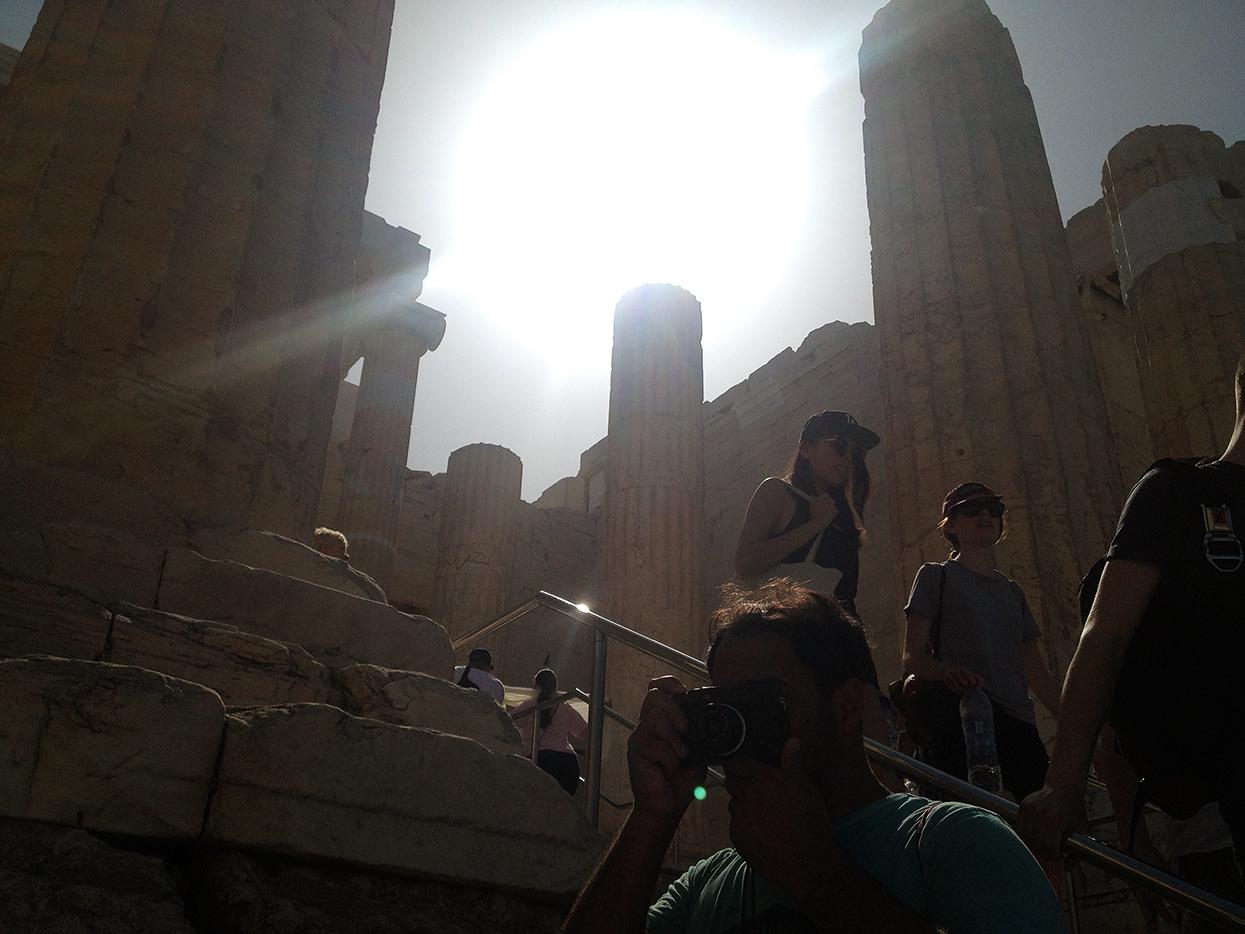 Grecia. Autorretrato - Behind the lens - JOSE V. GLEZ
